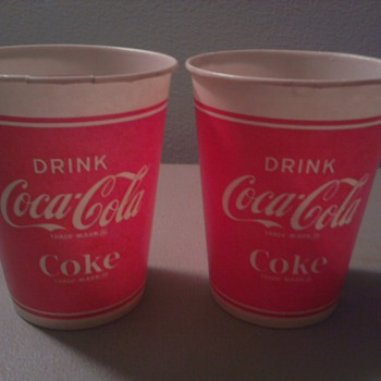 Another Variation Coca Cola/Coke Paper Cup - Coca-Cola