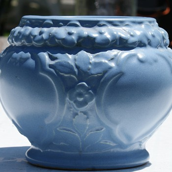 Unknown Blue Bowl - Art Pottery