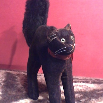 Steiff Black Cat - Animals