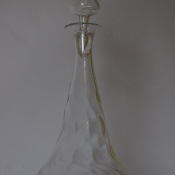 Thomas Webb Ribbonette Pattern Decanter - Bottles