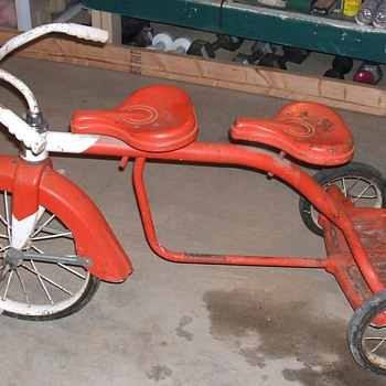 Hamilton Steel 2 Seater Tricycle - Outdoor Sports
