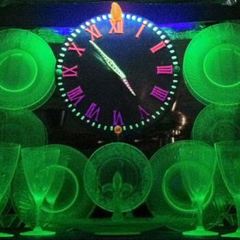 "Uranium ""Glo~Glass""  - Glassware"
