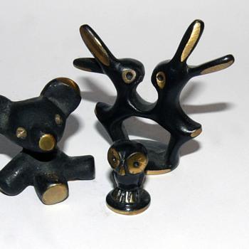 walter bosse bronze figurines - Mid-Century Modern