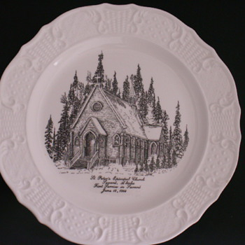 Church Plate, Seward, Alaska - China and Dinnerware