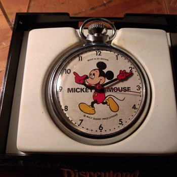 "The ""Last"" Issue ""English"" Mickey Mouse Pocket Watch"