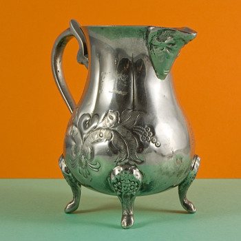 Silver Jug with Arabic writing