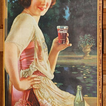 Coca-cola advertising picture