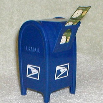 U.S. Mailbox Postage Stamp Dispenser