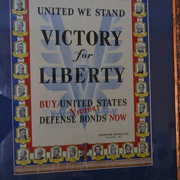 Liberty bond counter display - Advertising