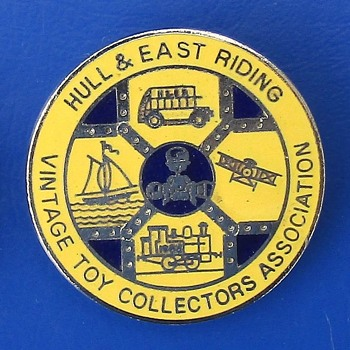 Hull & East Riding Vintage Toy Collectors Association membership badge (1980's)