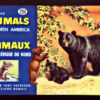 Brook Bond Animals Of North America Album #2, 1960