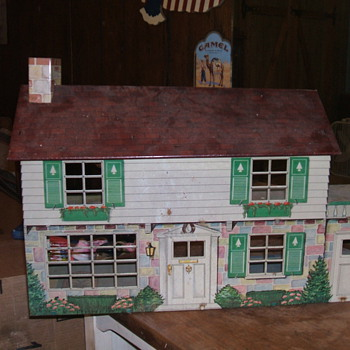 Older Disney Playhouse By Marx - Dolls