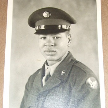 Photo of US Army Air Corps Tuskegee Airman