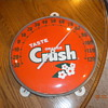 12&quot; ORANGE CRUSH THERMOMETER