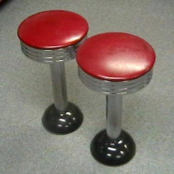 1950's Diner Stools - Furniture