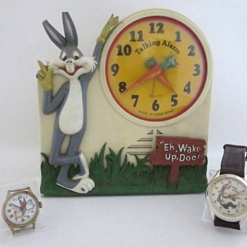 Bugs Bunny Alarm Clock & Watches