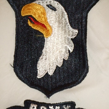 101st Training Division Souvenir Scarf c. 1950