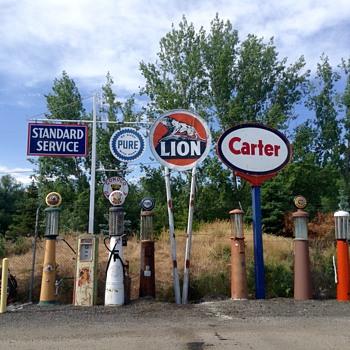 Lion Gas - Petroliana