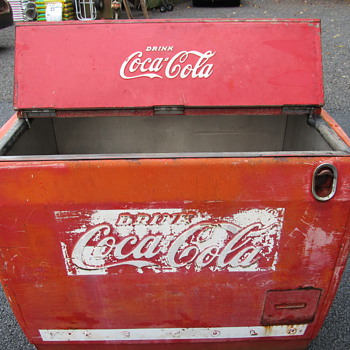 Coca Cola Chest Cooler  - Coca-Cola