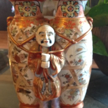 Chinese Japanese vase figure antique