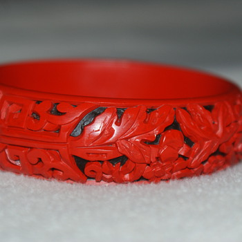 """Cinnabar"" Bangle Number II - Costume Jewelry"