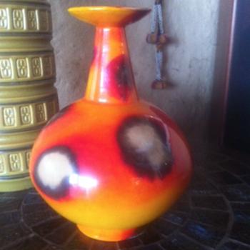 Alvino Bagni vase/lamp base - Mid-Century Modern