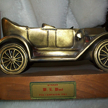 J&amp;B Chevrolet award book ends - Classic Cars
