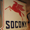 What is older SOCONY sign or MOBILGAS