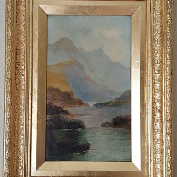 2 Victorian oil paintings