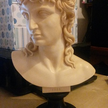 Cross Looking Eros Bust