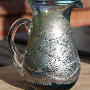 Stuart Fletcher @Top Glass jug - Art Glass