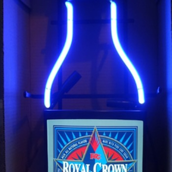 ROYAL CROWN DRAFT COLA NEON SIGN