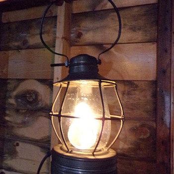 Jenk's Railroad Lamp - Lamps