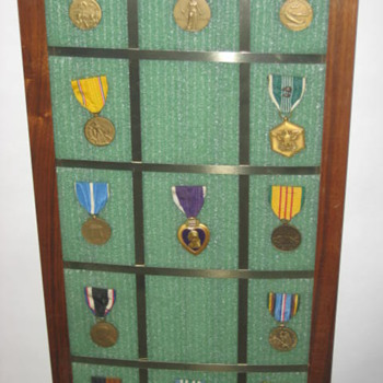 War Medals minus one :)