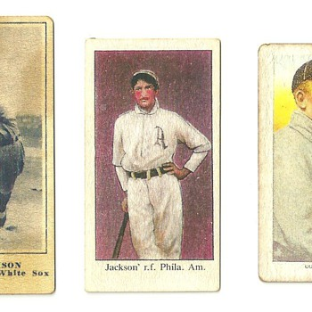 Old baseball cards? Real?