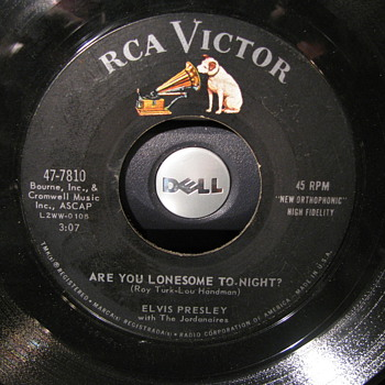 Elvis RCA Victor 45s. 