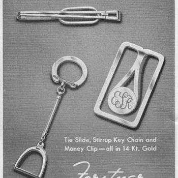 1948 - Forstner Jewelry Advertisement - Advertising