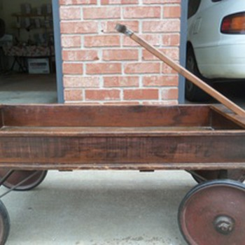 American Scout Wooden Wagon