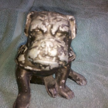 WWII USMC Marine Corps desk mascot - Military and Wartime