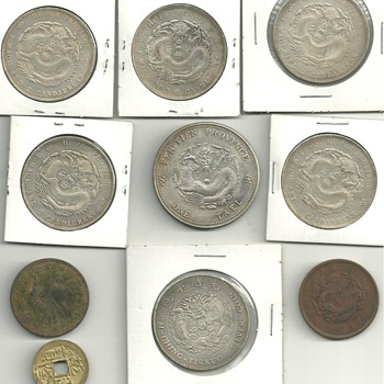 Authentic? Copies? Unknown chinese? - World Coins