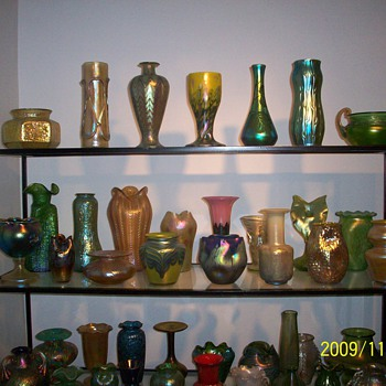 Growing Loetz / Bohemian collection - Art Glass