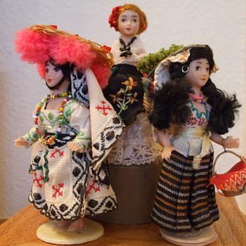 Mexican dolls 1960's - Dolls