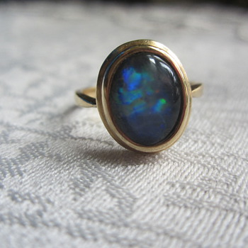 14k Opal Ring - Fine Jewelry