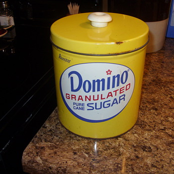 domino sugar container - Advertising