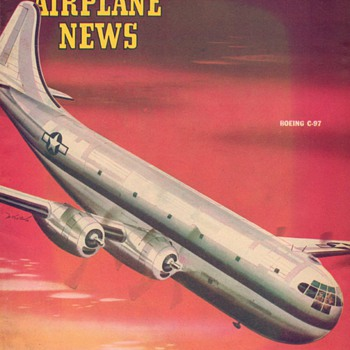 1945 - Model Airplane News magazine - April
