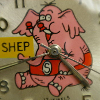 1972 'Shep' the Pet Elephant Wristwatch by Jay Ward