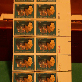 1973 Robinson Jeffers American Poet 8¢ Stamps - Stamps