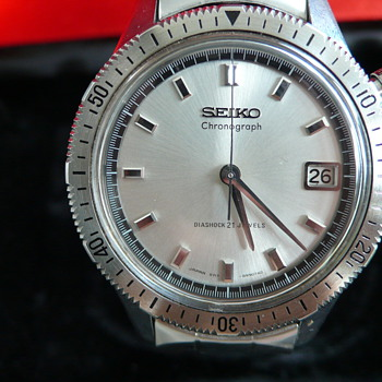 seiko one button 5717-8990 1967s