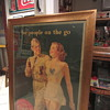 1944 Coca Cola cardboard sign WW2 issue