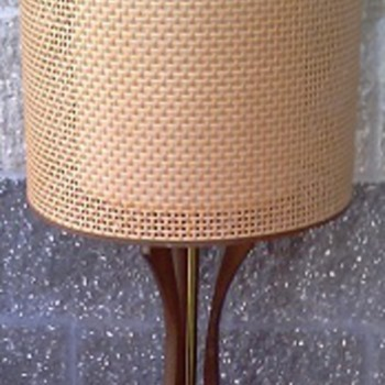 Mid Century Danish Modern Style Lamp